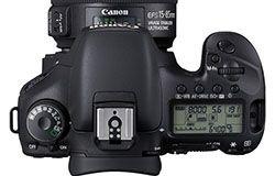 Canon EOS 7D Top