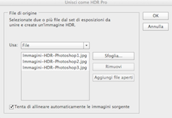 HDR in Photoshop