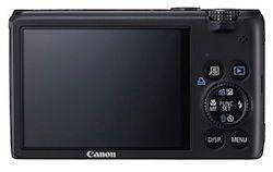 Canon PowerShot S95 Display