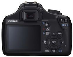 Canon EOS 1100D Display