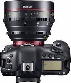 Canon EOS-1D C top