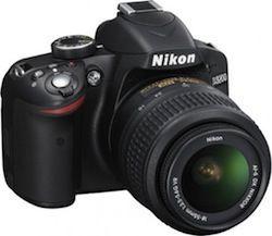 Nikon D3200 front